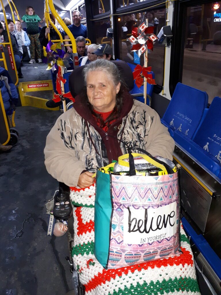 Christmas Bus City Lights Tour