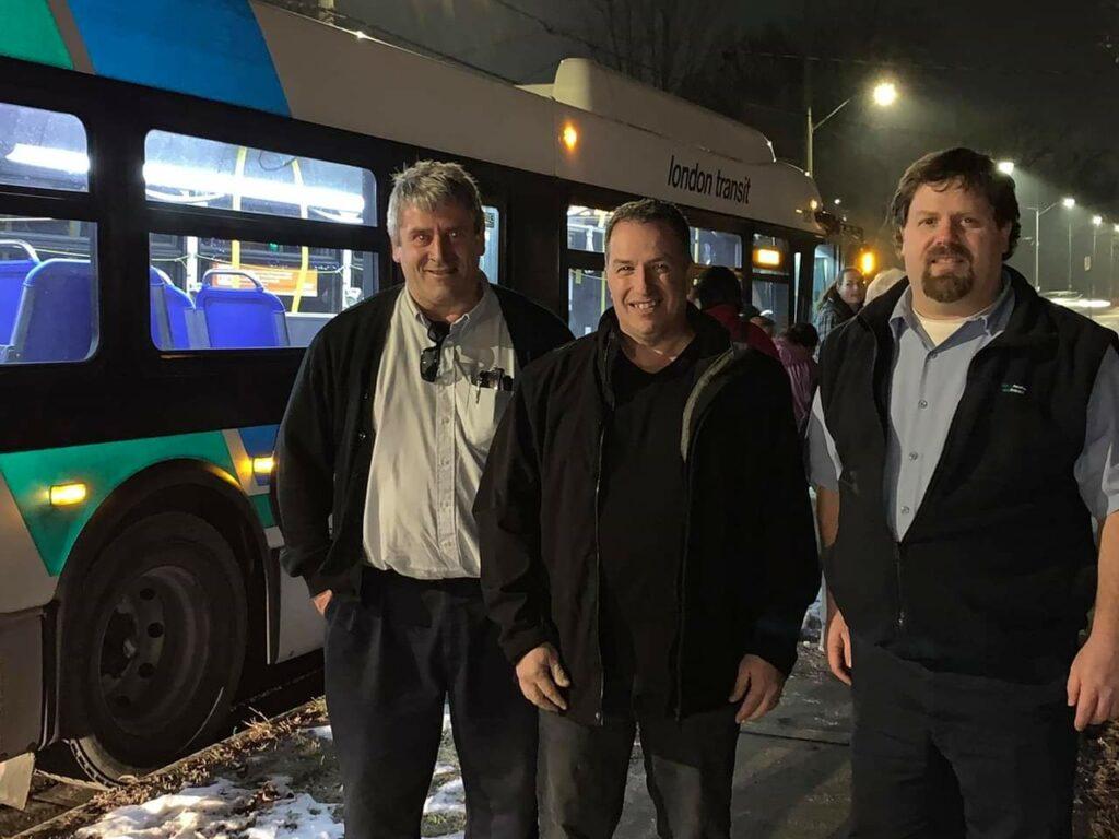 Christmas Bus City Lights Tour