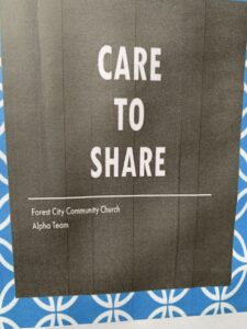 Forest City Community Church Donation